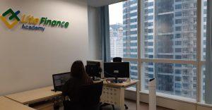 Những hình ảnh mới nhất của văn phòng LiteFinance tòa nhà Keangnam