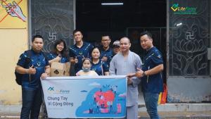 Chuyến đi từ thiện của team Leader LiteForex
