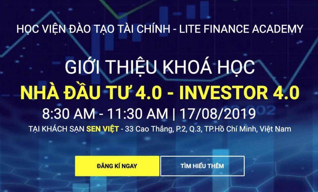 Hội Thảo LiteFinance Hồ Chí Minh 17/08/2019