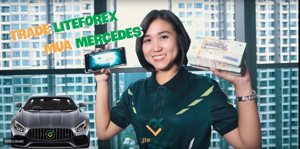 LiteForex giúp bạn thực hiện uớc mơ triệu phú