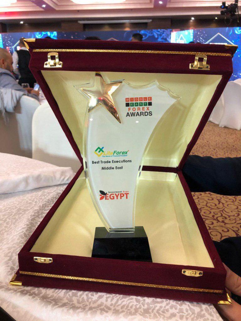 """LiteForex vinh dự dành danh hiệu """"Sàn giao dịch Khớp Lệnh Tốt Nhất Trung Đông"""""""