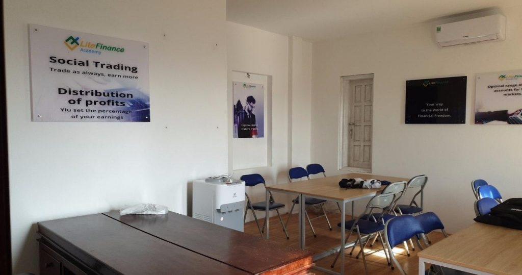 Văn phòng đầu tiên của đối tác LiteForex tại Huế vừa được thành lập