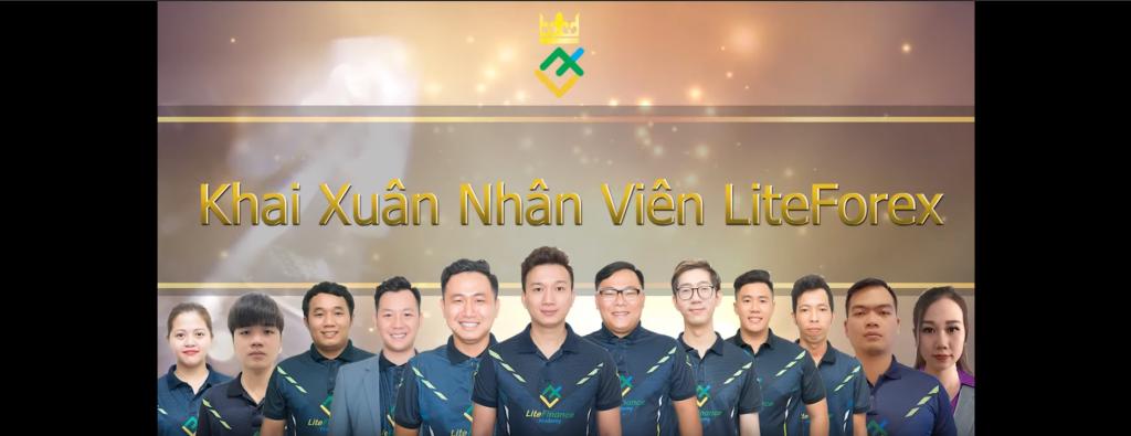 Khai xuân đại gia đình LiteForex Việt Nam