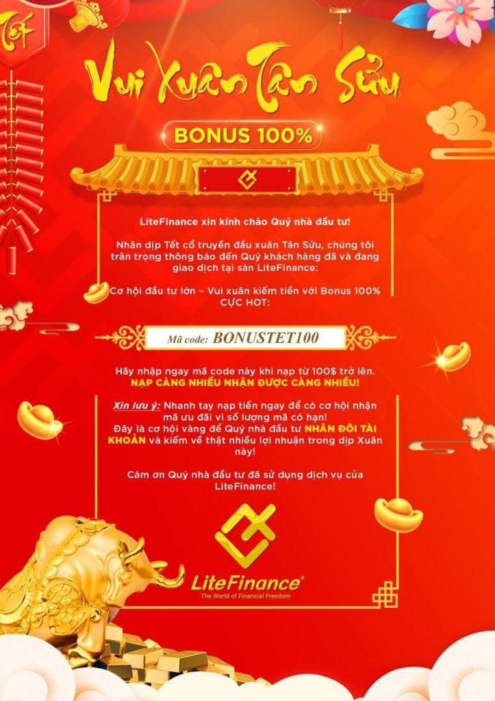 Bonus100 Litefinance